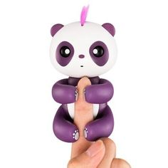 If you blow your Baby Panda a kiss, she will kiss you right back! The Baby Panda loves to grab onto things especially your hands! This miniature Panda cling to your hands and go where you go. Pet Toys, Kids Toys, Panda Bebe, Open Source Code, Cool Gifts For Kids, Electronic Toys, Toy Sale, Kids Online, Cool Walls