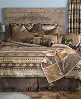 Carstens Mustang King Bedding - 5 Piece Set: A luxurious western bedding set by Carstens. Cowgirl Bedroom, Western Bedroom Decor, Western Bedrooms, Western Decor, Rustic Bedrooms, Western Bedding Sets, Rustic Bedding, Camo Bedding, Modern Bedding