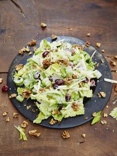 Mighty Waldorf Salad | Vegetable Recipes | Jamie Oliver - No mayo - roasted…