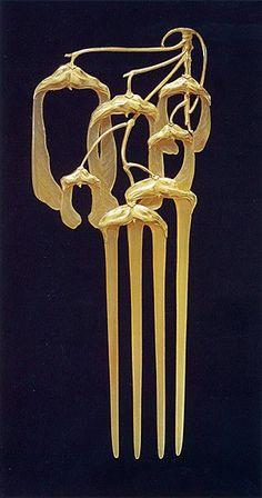 Rene Lalique - comb
