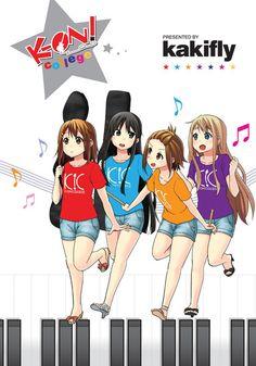 K-ON!: College Manga