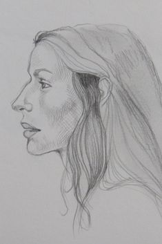 Drawing women in pencil is different than drawing men. Women don't have quite as chiseled features so one really needs more control when sketching the figure onto paper! #drawing #sketchingpeople #woman #beautiful #drawingideas #detailed #figuredrawing #drawingpeople #drawingface #face #human #profiledrawing #figurestudy #pencil
