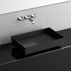 Shop for WS Bath Collections Blade Vision Vessel Bathroom Sink in Matte Black x at Modo Bath, the premier online shopping experience for Vessel Sinks.