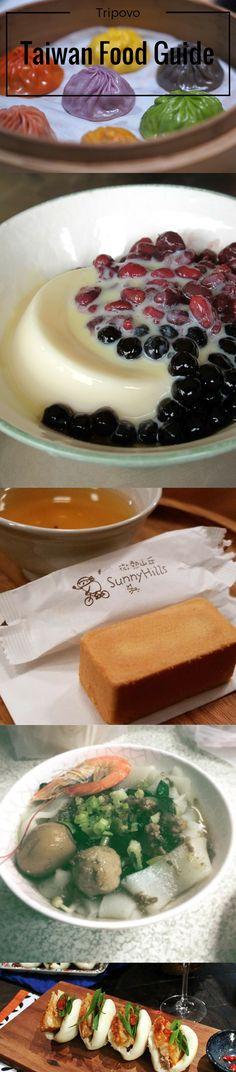 Taiwan Food Guide: 10 Fantastic Eats You Must Taste on Your Taiwan Holiday. #gotrpivo #tripovo #travel #taiwan #taipei #trip #vacation #holiday #food #guide #almond #tofu #bantiao #Noodles #bubbletea #dumplings #guabao #pineapple #cake
