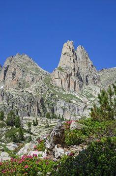 Peaks of the Agulles d'Amitges, Espot, Catalonia.