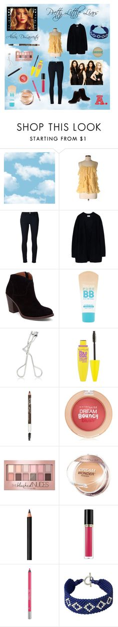 """""""Alison DiLaurentis - PLL (look alike)"""" by kimber-rose on Polyvore featuring LOFT, Frame Denim, Acne Studios, Lucky Brand, Maybelline, INIKA, Revlon, Urban Decay and NOVICA"""
