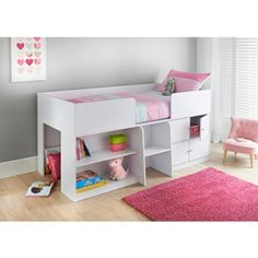 03904b8bf523 10 Best childrens beds images | Arredamento, Bed pads, Bed with drawers