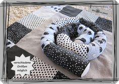 Nestchen - Bettschlange, Nestchen, Bettrolle, Lagerungshilfe - ein Designerstück von Sabrina-PA bei DaWanda