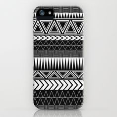 Tribal+Monochrome.+iPhone+