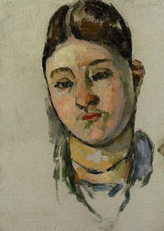 Portrait Of Madame Cezanne Artwork By Paul Cezanne Oil Painting & Art Prints On Canvas For Sale Paul Gauguin, Cezanne Art, Paul Cezanne Paintings, Renoir, Figure Painting, Painting & Drawing, Monet, Cezanne Portraits, Aix En Provence