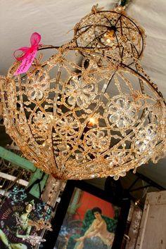 Junk Gypsy chandelier