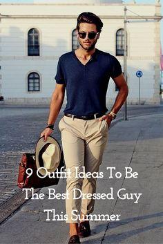 Summer Outfit Ideas. #MensFashion #Menswear