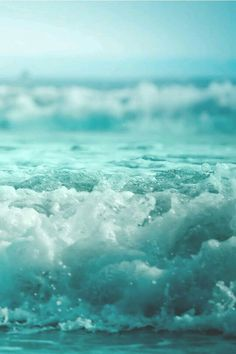 ✿ ❤ Turquoise wave...