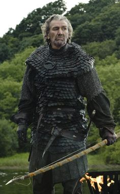 """Brynden Tully. Brother of Hoster Tully. Uncle to Edmure Tully and Catelyn Tully Stark, called """"The Blackfish."""""""