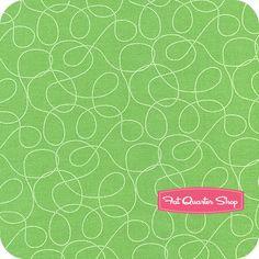 Sweet on NYC Green Swirl Yardage SKU# C8707-GREEN - Fat Quarter Shop
