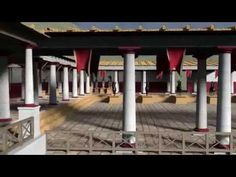"""Los Bañales: Foro, recreación infográfica (Proyecto """"Forum Renascens"""", Pablo Serrano, Mayo de 2014) - YouTube"""