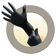 Black gloves from Microflex. When no other color will do. Disposable Gloves, Black Dragon, Black Gloves, Good Grips, Nice Tops, Medium, Zero, Lab, Dining