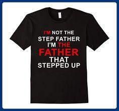 Mens Step Dad T-shirts 2XL Black - Relatives and family shirts (*Amazon Partner-Link)