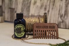 "WV Coal is scented with Sage with hints of Peppermint and Patchouli. This combo includes a comb that is embossed with ""Mountaineer Brand"" and is small enough to take just about anywhere."