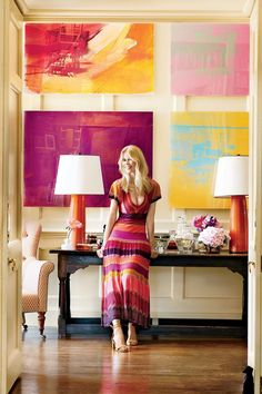 Claudia Schiffer's English mansion  Photography by Simon Upton
