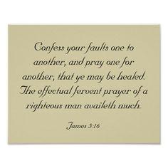 James Bible Verses About Prayer