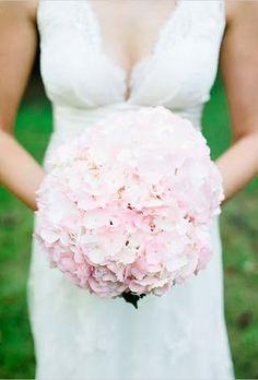 Bridal bouquet - hydrangea