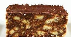 2 el kakao, 250 g margarien 500 g versiersuiker 1 tl vanilla essence 1 pak marie koekies 1 groot eier. Fudge Recipes, My Recipes, Sweet Recipes, Baking Recipes, Cookie Recipes, Favorite Recipes, Recipies, Baking Ideas, Kos
