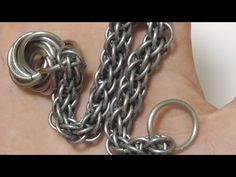 Box Chain Bracelet Tutorial - YouTube