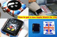 How to get a new Apple Watch for 15 dollars - If you look for something new which can express you and your watch, That is iFopia`s EDGE SKIN.