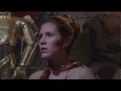 """Return of the Jedi"" Slave Leia Scene - Special Edition - YouTube"