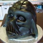 darth vader helmet #novelty #mad4cakes #eastcote #bespoke cakes #online #shop #tiered cakes #speciality #speciality cakes
