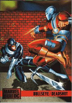 Bullseye vs Deadshot ('95)