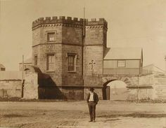 Fort Macquarie on Bennelong Point,in Sydney. Photographer Fred Hardy,for the Studio of George Washington Wilson.