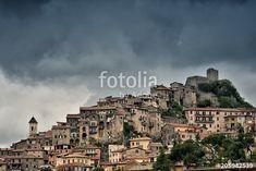 Veduta di Olevano Romano - Roma - Lazio - Italia
