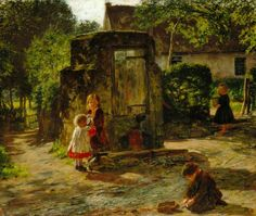 The Old Pump Well - William McTaggart