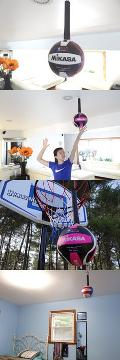 Other Volleyball 2919: Volleyball Spike Training Aid And Hitting Serving Trainer. Great ! BUY IT NOW ONLY: $40.0