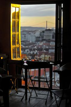 Lisbon sunset #Portugal - Explore the World, one Country at a Time. http://TravelNerdNici.com