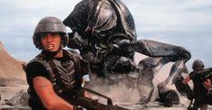 Starship Troopers: A Misunderstood Self-Aware Satire Film on Right-Wing Militarism Adam Curtis, Trey Parker, Alien Encounters, Starship Troopers, 10 Film, Tom Burke, Sci Fi Films, Adam Sandler, Columbia Pictures