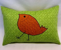 Outdoor Pillow Cover 12 x 18 from green sun and shade by LenkArt, $35.00