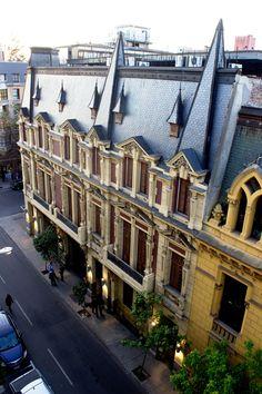 Barrio Dieciocho. Santiago de Chile