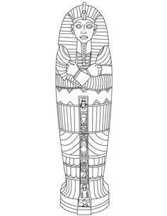 Do you want to help your child discover Egypt in fun, yet educational way? These ancient Egypt coloring pages will enthrall him greatly! Check & print for your kid. Ancient Egypt Mummies, Ancient Egypt Crafts, Ancient Egypt Activities, Ancient Egypt For Kids, Egyptian Crafts, Egyptian Mummies, Egyptian Art, Ancient Egypt Lessons, Ancient History