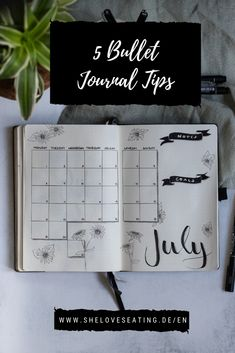 Bullet journaling is easier said than done - here are five tips which will help you to set up your Bullet Journal! #bujo #bujoideas #bujoinspiration #bulletjournaling #bulletjournal