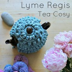 The Lyme Regis Tea Cosy is a simple, textured cosy made with less than 100g of worsted weight yarn. It is my second tea cosy design and I love it as much as the first.