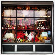 Our Holiday 2015 window is out on display! Swing by the shop to see this beautiful Christmas window in person