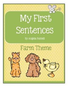 This unit is a collection of 10 worksheets and 10 pictureword cards for children who are beginning to read.Copy, cut, and laminate the picture word cards. Placethem in a center along with a worksheet. Students willuse the picture word cards to help them complete thegiven sentences.The sentence used in this unit are:I see aI like theI am aI see theI see onePicture word cards used in this unit are:catdogpigcowduckhenhorsesheepfrogfarmer