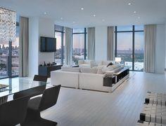 Luxury Apartment Living Room Decoration Ideas Picture