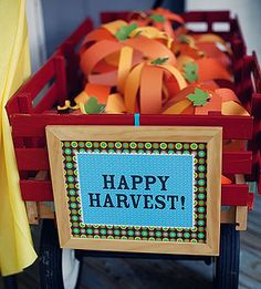 Harvest Party Ideas with lots of fun owl ideas too to go with harvest/halloween theme