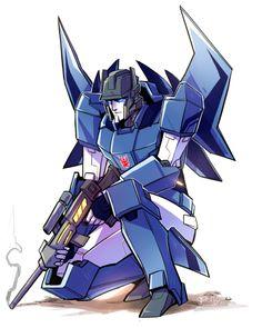 Misfire <----- HOLY COW! But isn't he purple...? :p