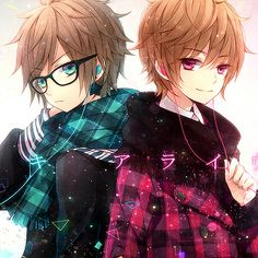 I once met a cute pair of twins. One was quiet, and a little anti-social. The other one was happy go lucky and talked to everyone. I fell in love with Kiro ( the quiet one) but I also loved his brother naru. A couple years after high school Kiro confessed his love for me. I was happy and gladly accepted to being his girlfriend. Naru was not happy but he said it was fine. But he wasn't and I knew something bad could happen ( be one of the twins)