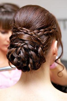 Recogido trenzado, el peinado bohemio por excelencia